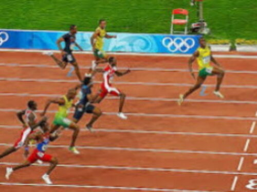Social Media at the Olympics