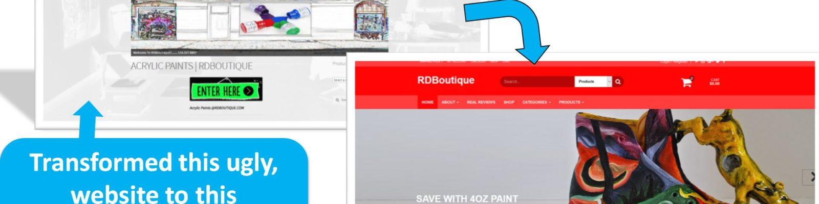 affordable website designer near me